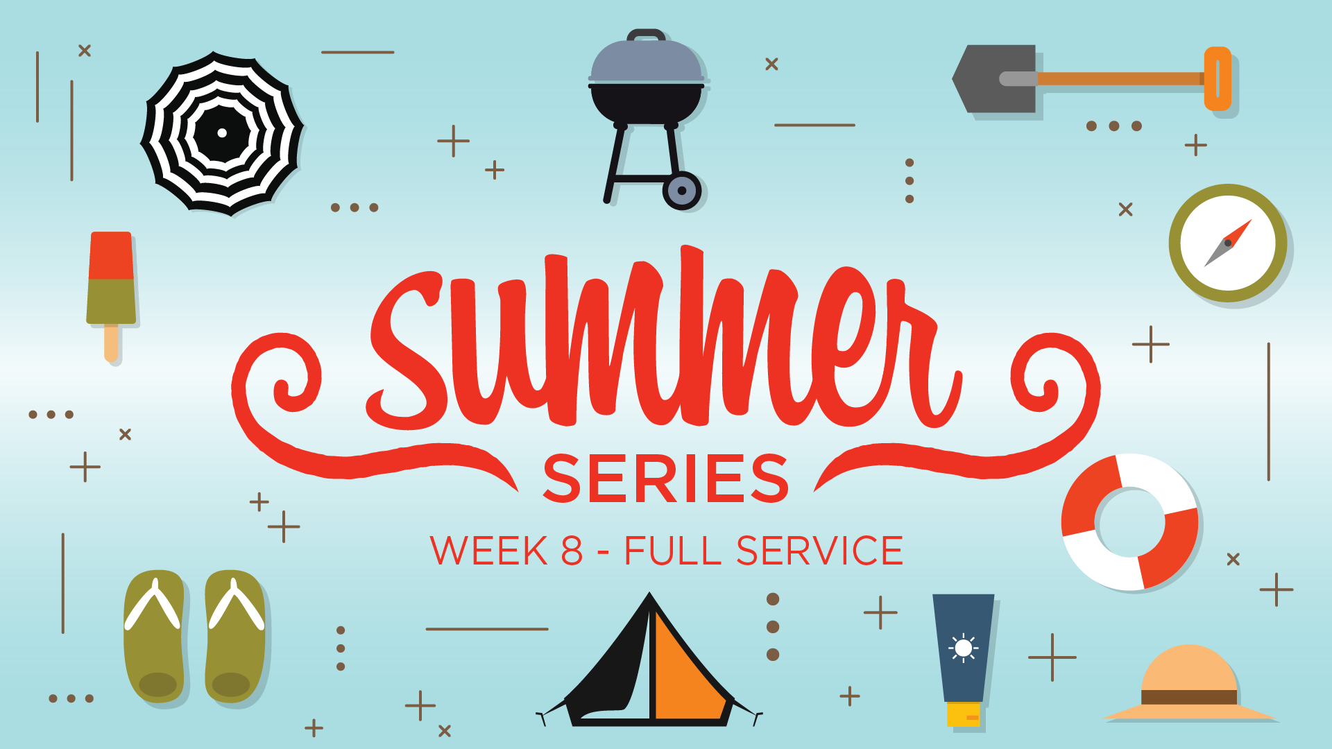 Summer Series - Week Eight